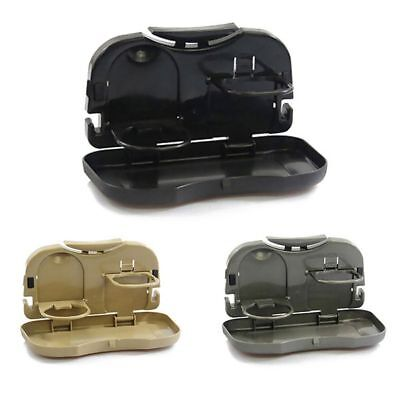 Hot New Folding Auto Car Back Seat Table Drink Food Cup Tray Holder Stand D A3A5