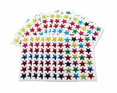 350 Coloured Star Stickers Reward Merit Chart Kids Self Adhesive 15mm