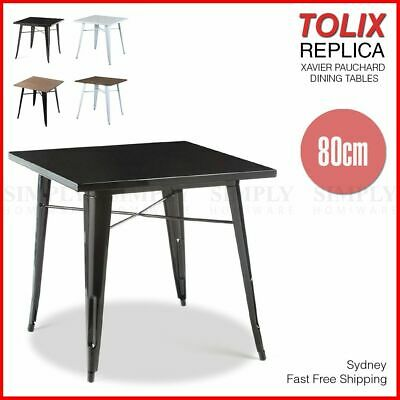 Tolix Dining Table Bar Replica Xavier Pauchard Restaurant Cafe Metal Steel Legs