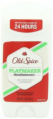 Old Spice High Endurance Invisible Solid Playmaker Scent Men's Deodorant 3 oz