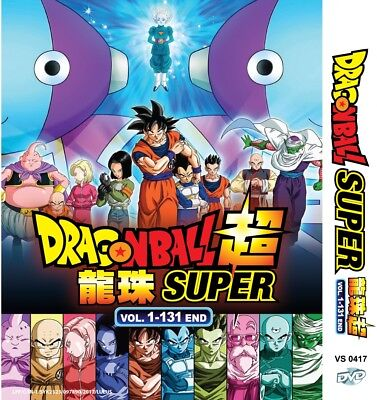 Anime DVD Dragon Ball Super Complete Series Vol. 1-131 End English Dub** & Sub