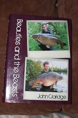 Beauties And The Beasts Carp Book By John Claridge. Half Price Signed By Author