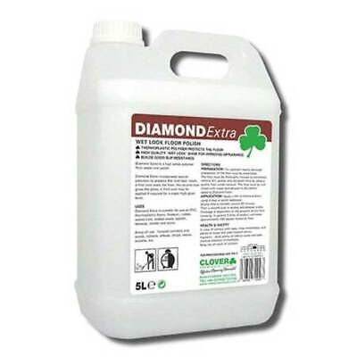 Clover diamond Extra Wet Look Floor Polish (2x5ltr) 109
