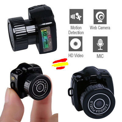 Mini DV Camara HD Espia Y2000 Hasta 32GB Video fotos USB Bateria litio Micro SD