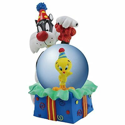 New Looney Tunes Sylvester & Tweety Birthday Surprise 45MM Water Globle Figurine