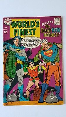 World's Finest #173 (1968 DC) VG+ 1st Silver Age Two-Face