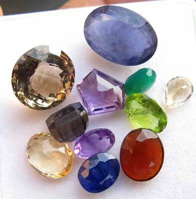 43.60 Ct Mixed Gem Natural Loose Gemstone Mix Lot Wholesale Parcel Lot