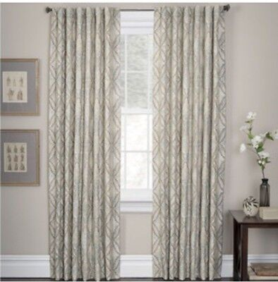 """Brand NEW - Marquis by Waterford DORAL Window Panel Pair Curtain Set 50"""" x 84"""""""