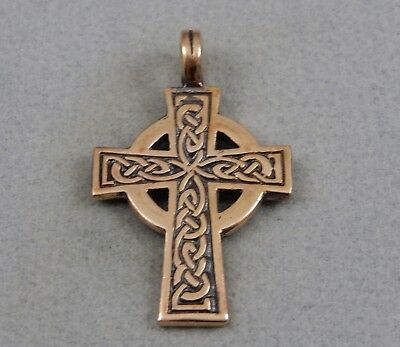 """edcstrong about Solid Pendant Bronze """"Celtic cross"""""""