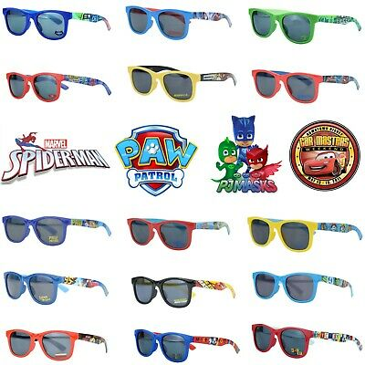 Licensed Kids Sunglasses Girls Boys Character PAW Patrol,Spiderman,Cars 3 UV400