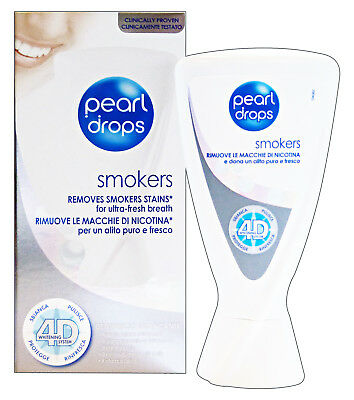 PEARL DROPS Dentifricio Sbiancante Smokers 50 Ml Cura E Igiene Dentale