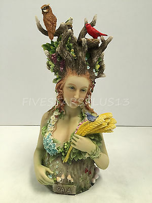 Gaia- Greek Primordial Goddess of Earth Statue Figure Home Decor Sculpture