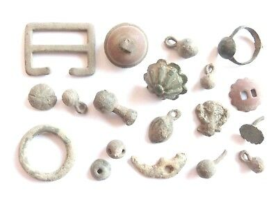 Lot of Misc. Ancient Bronze / Lead Artifacts