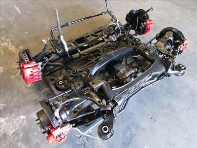 JDM 01-05 TOYOTA Altezza SXE10 IS300 OEM RHD Front & Rear Subframes Brakes  Diff