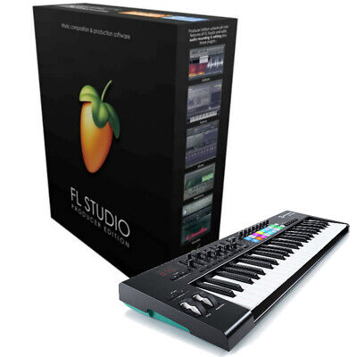 FL Studio 20 Producer Bundle Image Line W/ M-Audio Keystation 49 *New*