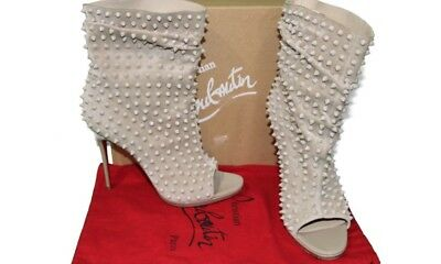 cheap for discount 184a9 1ed71 CHRISTIAN LOUBOUTIN SPIKED Guerilla Ankle Boots