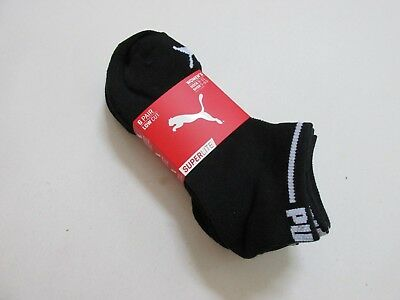 Puma Superlight Low Cut Socks Women's Shoe Size 5-9.5 Med 6-Pairs New