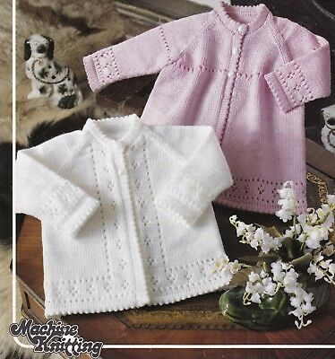 Machine Knitting Pattern For Premature Babydoll Bootees Mitts Hat