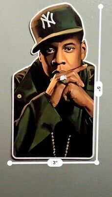 Jay-Z UV Proof Vinyl Sticker - R.O.C~Gangsta Rap~Brooklyn~90's Rap