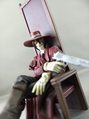 "Hellsing Figure Collection Search & Destroy vol.1: Alucard Sitting 4"" Figure."