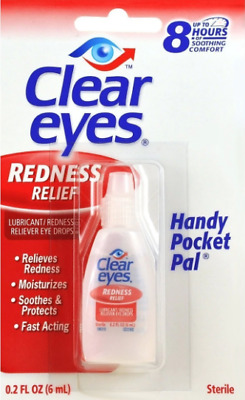 Clear Eyes Redness Relief Drops 0.2fl.oz (6ml) - Buy more & save