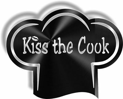 DXF CNC dxf for Plasma Kiss The Cook 2 Wall Art Home Decor