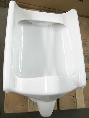 Vintage Crane Wall Hung Urinals NOS 7-187 Retro Plumbing Fixtures White