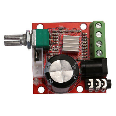 PAM8610 Mini 10W Stereo Audio Power Amplifier Module Board With Volume Control