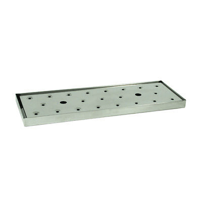 Bar Drip Tray with Insert Stainless Steel Beer Counter Top Home Brew Drink NEW