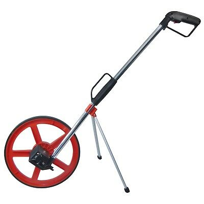 320mm DISTANCE MEASURING WHEEL WITH STAND & BAG SURVEYORS BUILDERS ROAD LAND