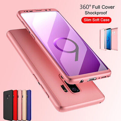 For Samsung Galaxy S9 / S9 Plus 360° Full Body Shockproof Protective Case Cover