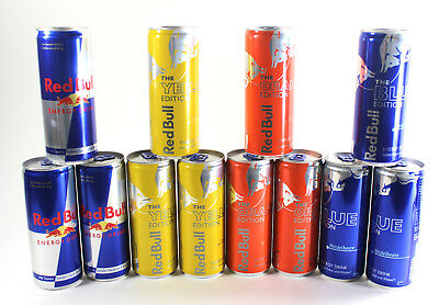 Red Bull Summer Edition Special Set Original, Blue, Orange, Yellow 0,97€/100ml