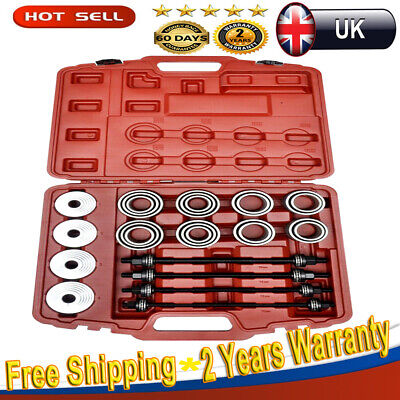 36pcs Press & Pull Sleeve Kit Remover Installer Bushes Bearings Universal Tools