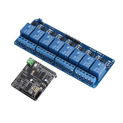 iMatic WIFI Network IO Controller + 8-CH Relay Module For Arduino Android iOS