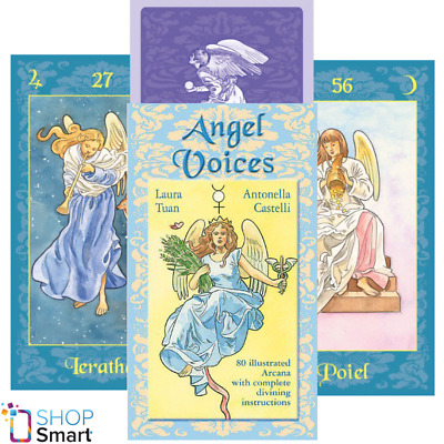 Angel Voices Oracle Cards Deck Esoteric Telling Lo Scarabeo New