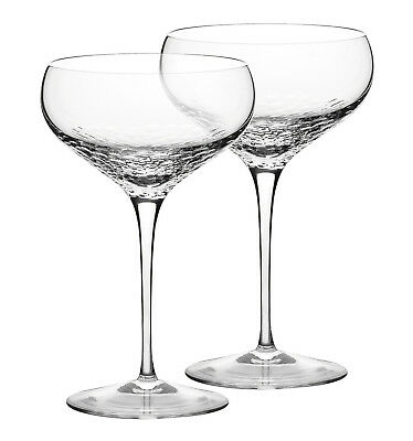 NEW Vera Wang Wedgwood Sequin Crystal Champagne Saucer Pair Lowest Price