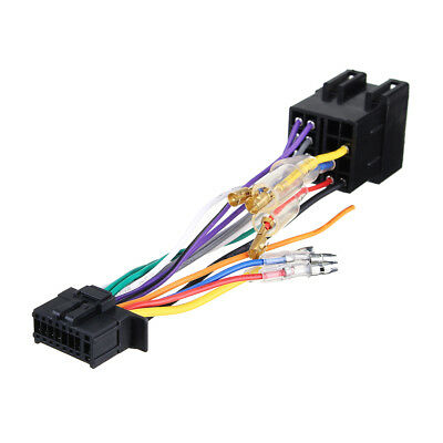 Superb 16Pin Car Stereo Radio Wiring Harness Stecker Plug Iso Pi100 For Wiring 101 Vieworaxxcnl