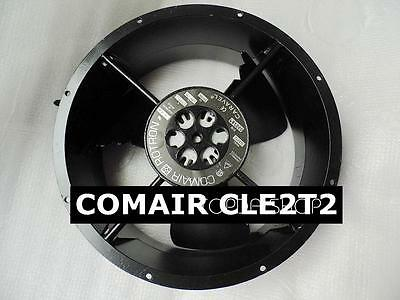 Comair Rotron CLE2T2 Full circle aluminum frame fan 115V 0.48/0.50A 254x254x89MM