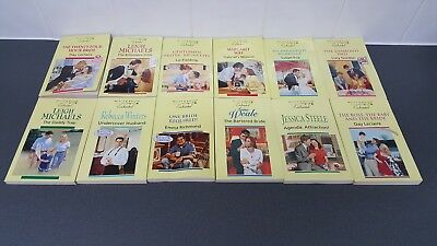 Job Lot Of 12 Mills & Boon Books Enchanted Romantic Books