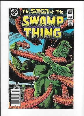 Saga Of The Swamp Thing #6 (Vg) Dc Copper