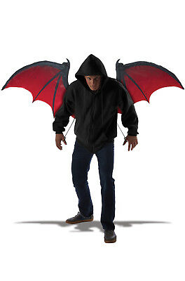 Brand New Bloodnight Vampire Bat Wings Costume Accessory