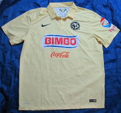 237b5faaa Club America MEXICO home jersey shirt NIKE 2014-2015 Águilas NEW adult SIZE  XL