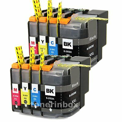 8pk LC20E LC-20E XXL ink cartridge For Brother MFC-J5920DW MFC-J775DW MFC-J985DW