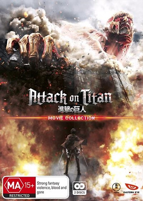 Attack On Titan | Movie Collection (Blu-ray) (Region B) New Release
