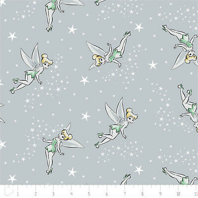 Disney Tinker Bell Do you Believe Iron Camelot 100/% cotton fabric by the yard