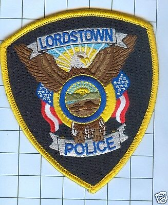 Police Patch -  Lordstown Ohio