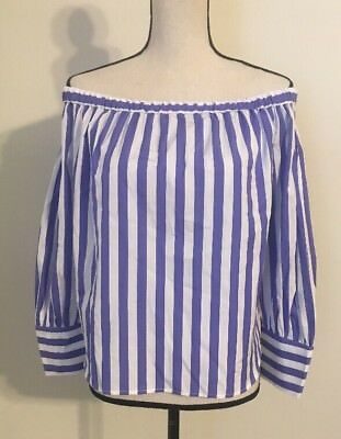 0079674382f NEW COLLECTION THOMAS Mason® for J.Crew off-the-shoulder striped top ...
