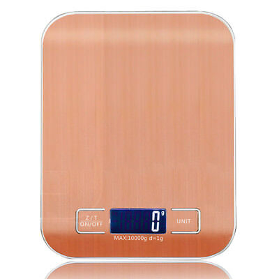WeiHeng 10kg 1g Stainless Steel Digital Scale Electronic Weight Balance Kitchen