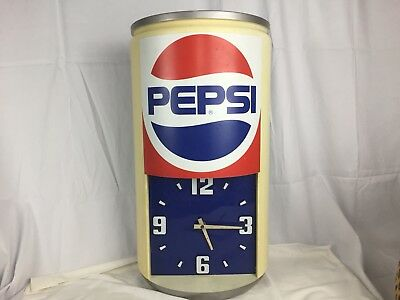 Vintage Pepsi Cola Wall Clock