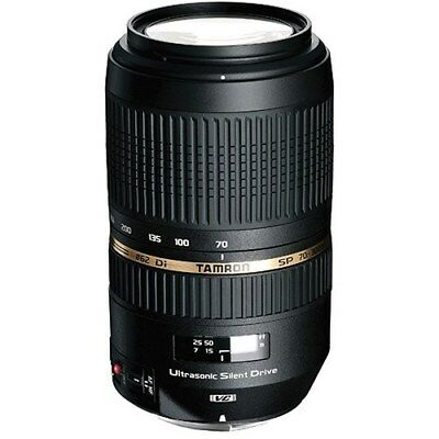 Tamron SP 70-300mm f/4-5.6 Di VC USD Telephoto Zoom Lens Canon EF Mount RR